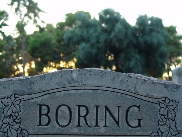 A tombstone with the name Borning