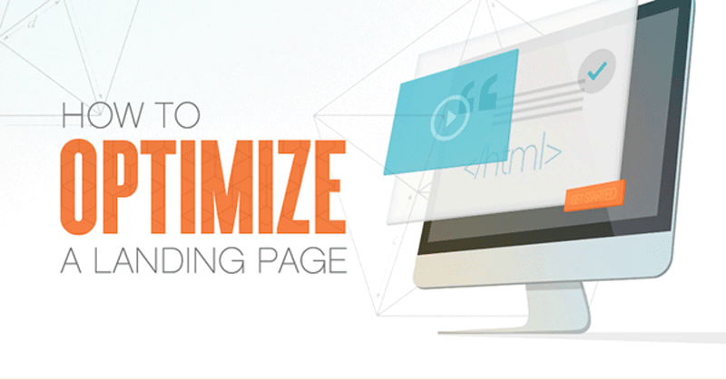 How to Optimize a Landing Page [Infographic]