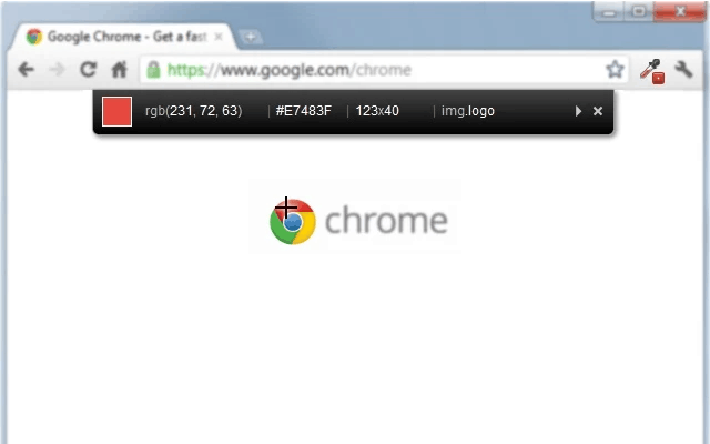 Screenshot of ColorZilla Chrome Extension