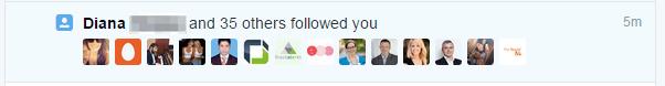 36 New Followers