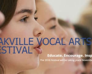 Oakville Vocal Arts Festival