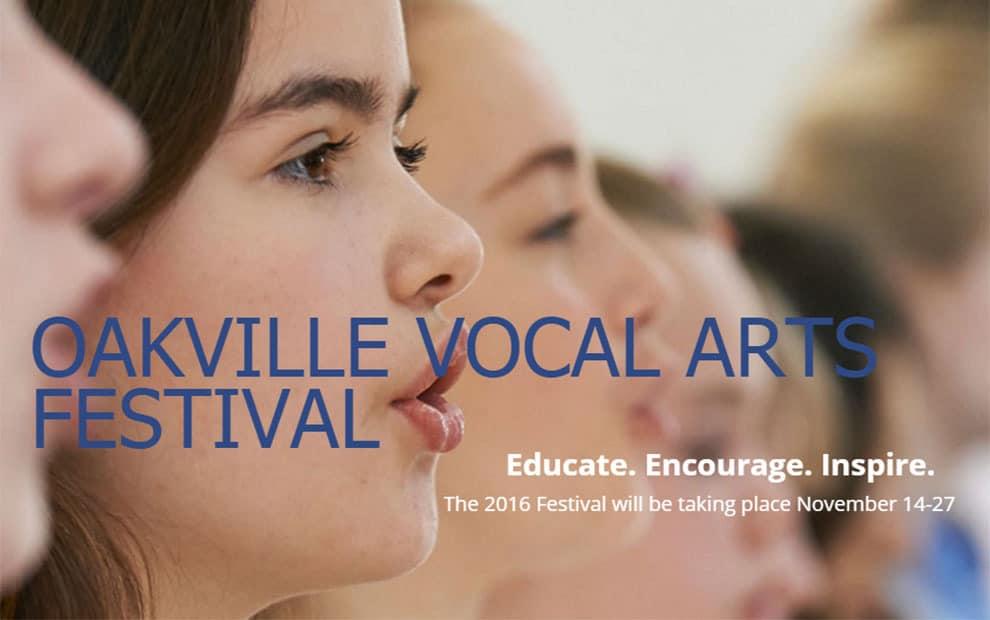Oakville Vocal Arts Festival