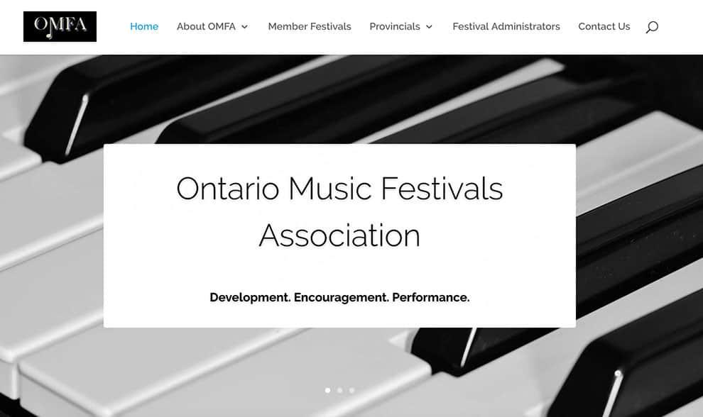 Ontario Music Festivals Association