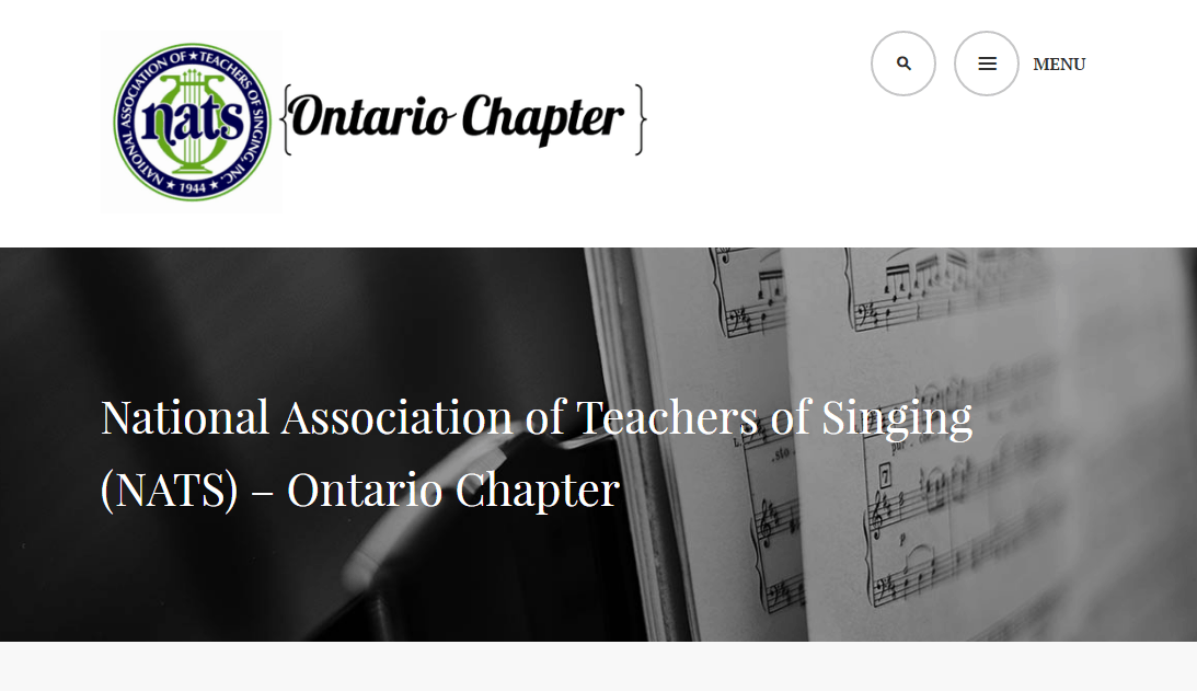 National Association of Teachers of Singing (NATS) – Ontario Chapter