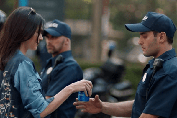 Kendall Jenner Pepsi Commercial Screen shot (Blog)